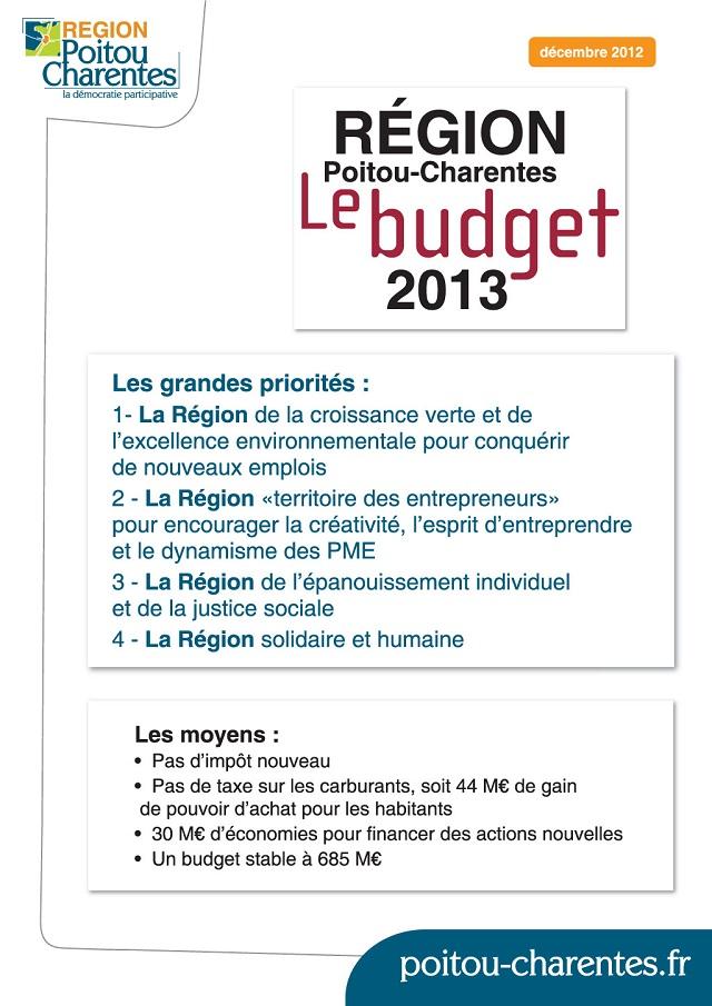 budget-poitou-charentes-2013